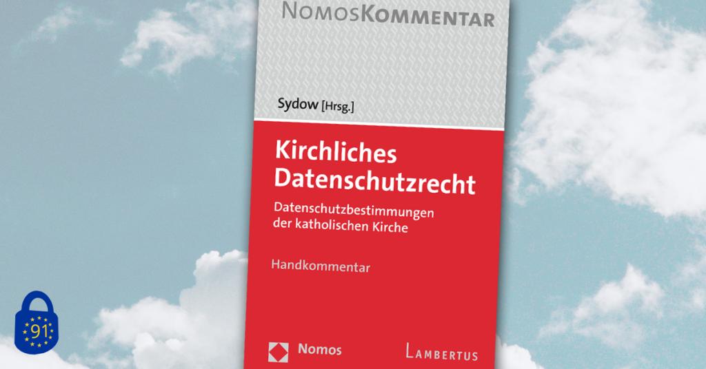 Cover von Sydow: Kirchliches Datenschutzrecht