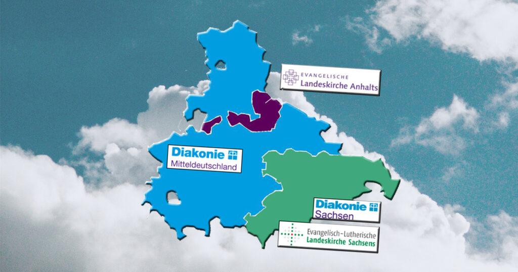 Der Zuständigkeitsbereich des Datenschutzbeauftragten umfasst mehrere östliche Bundesländer.
