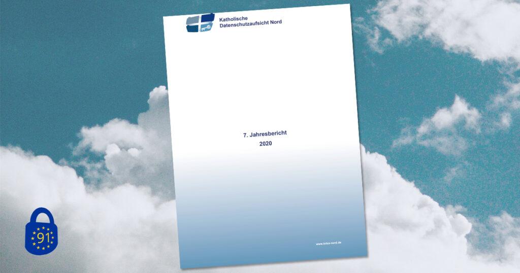 Titelseite des Tätigkeitsberichts 2020 der KDSA Nord