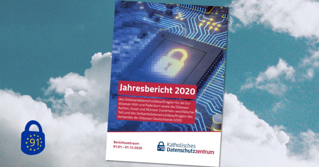 Titelseite des Tätigkeitsberichts 2020