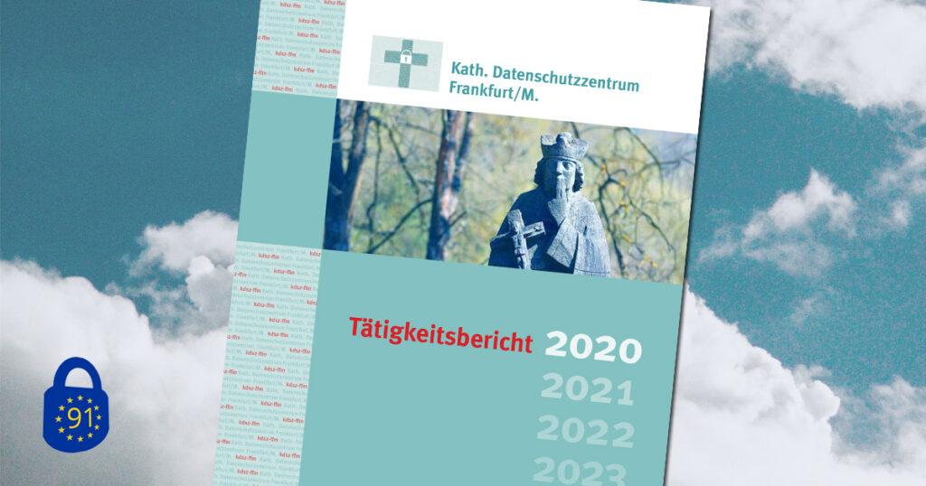 Die Titelseite des Tätigkeitsbericht 2020 der KDSZ Frankfurt